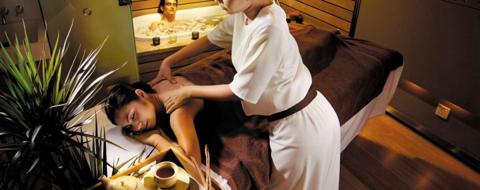 LOVE IS IN THE SPA