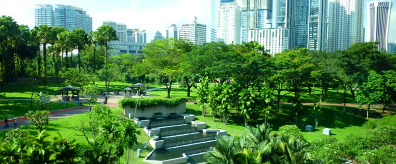 KL City Centre (KLCC) Park