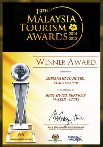 Certificate by Tourism Malaysia (4-Star-City) Best Hotel Servic (2)