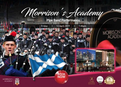 Morrison's Academy Pipe Band Performance & Dinner