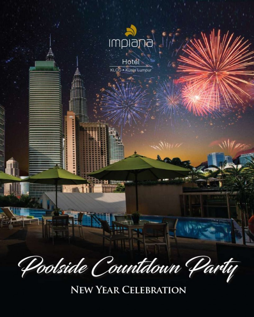 Poolside Countdown Party