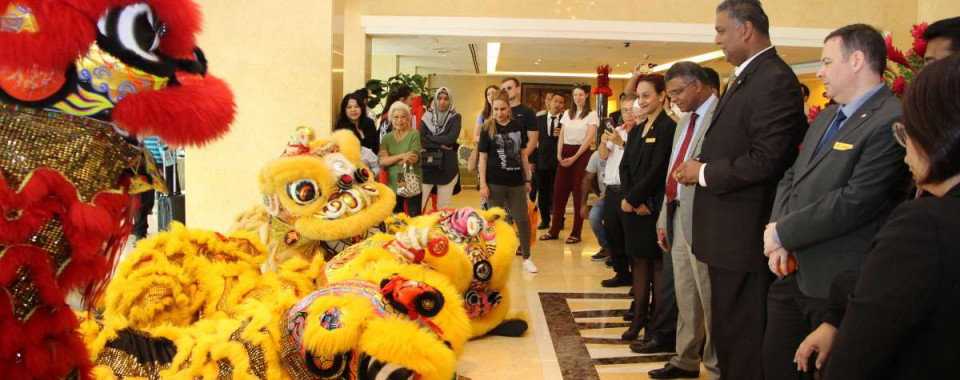 Eight Lions Dazzled At Impiana KLCC Hotel